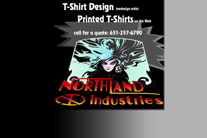 Printed T-Shirts in Wyoming, Minnesota  Northland Industries