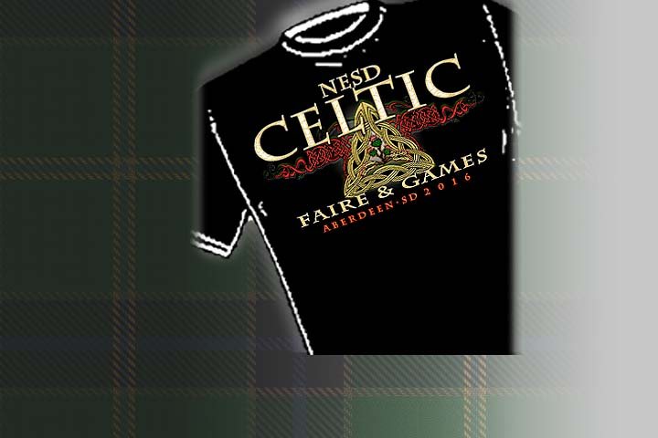 Northeastern South Dakota Celtic Faire &amp; Games - Official Merchandise<   Select colors and styles available in your choice of Celtic T-shirts | Celtic Hoodies | Celtic Crew Necks.