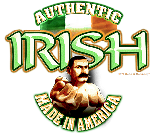 Authentic Irish T-Shirt Design