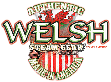 Authentic Welsh Steam-Gear<sup>®</sup> Made in America | by 3 Celts & Company