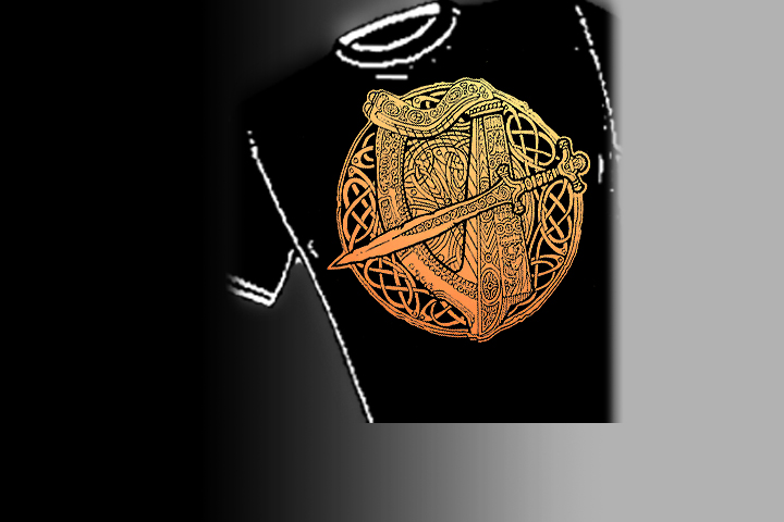 >Fairie Harp<   Select colors and styles available in your choice of Celtic T-shirts | Celtic Hoodies | Celtic Crew Necks.