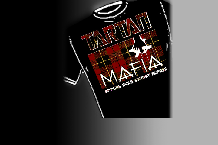 >Tartan Mafia<   Select colors and styles available in your choice of Celtic T-shirts | Celtic Hoodies | Celtic Crew Necks.