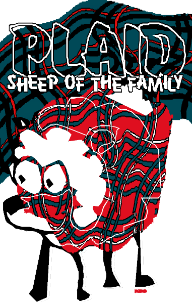 Plaid Sheep of the Family | by 3 Celts & Company